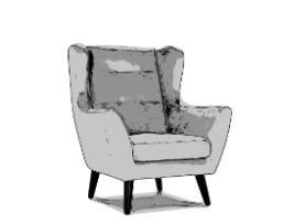 Wygodne fotele uszat